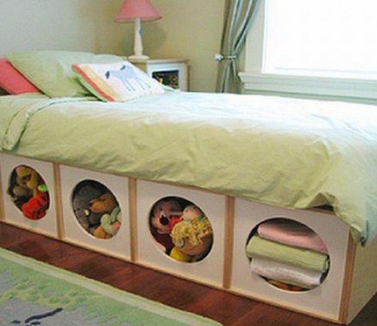 What do you store under your bed?