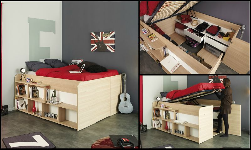 The Space-Up Double Bed