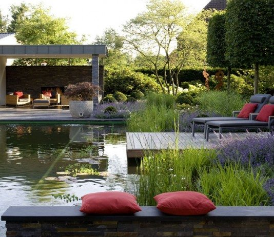 Water feature or swimming pool – you decide! Designed and built by Biotop Natural Pools.