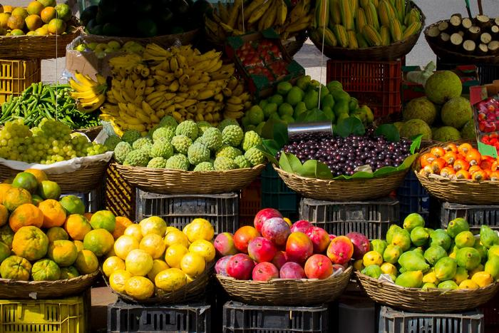 Fruit is a rich source of Vitamin C