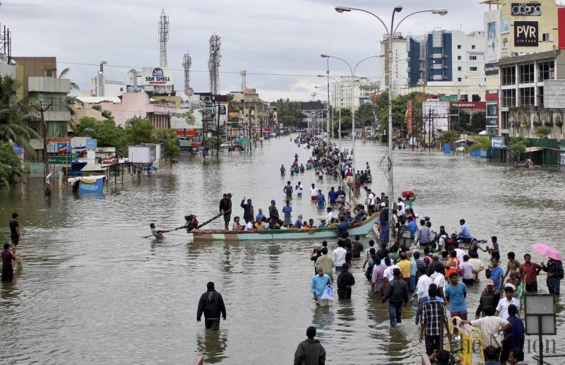 Dhaka, Bangladesh. Fully one-third of the nation is currently underwater. Crop losses will be devastating to an already poor nation.