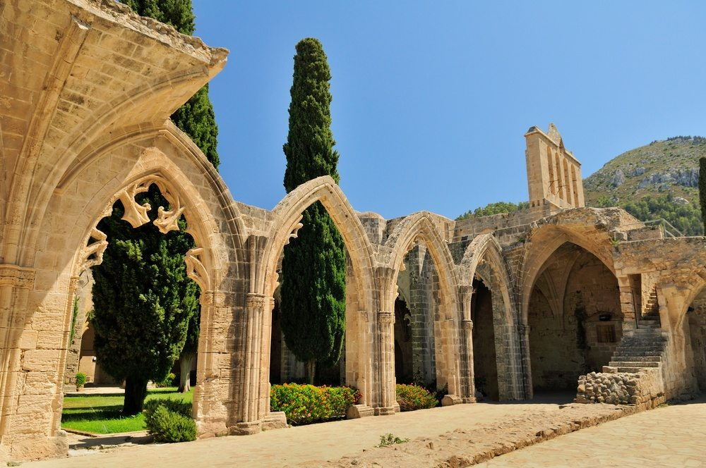 Bellapais Abbey Monastery - Cyprus is full of history!