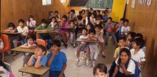 Crowded San Antonio classroom