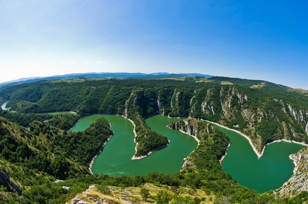 Uvac gorge is one of Serbia's 'Seven Wonders of Nature'