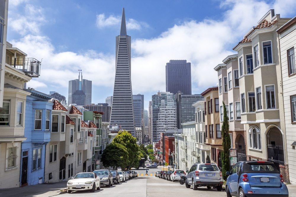 Inner city living in San Francisco