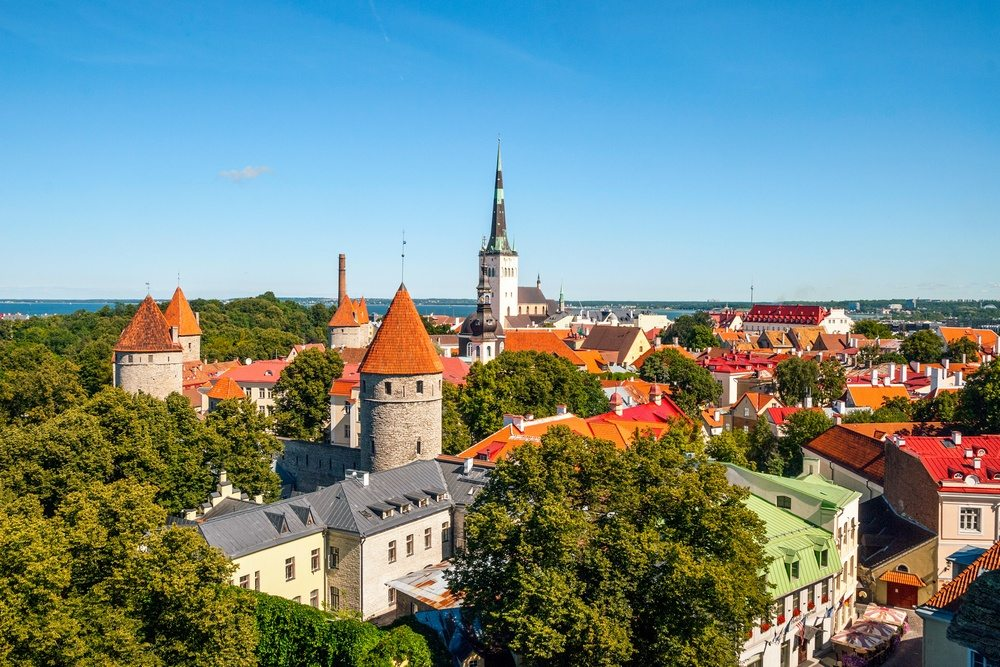 Tallinn Old Town - Estonia
