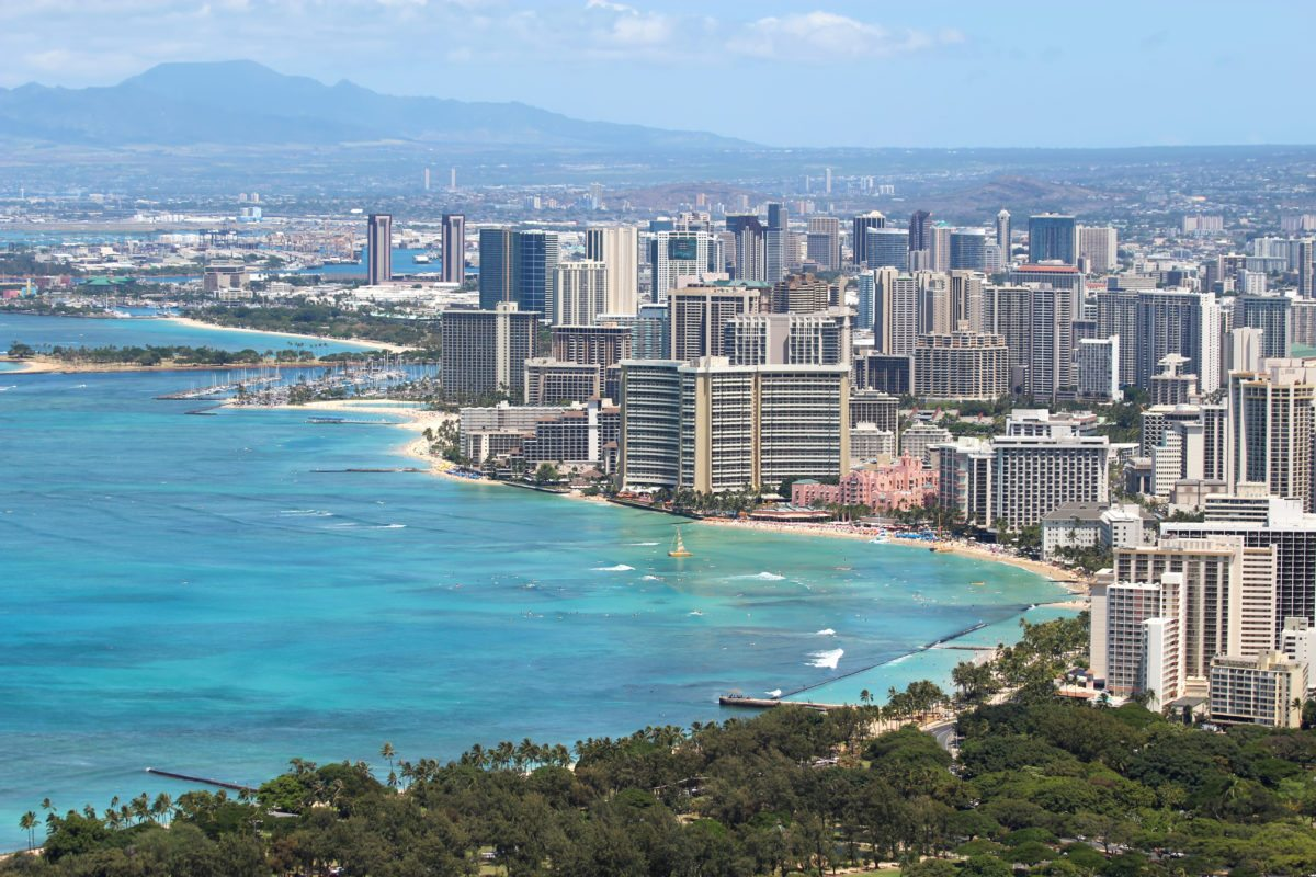 Honolulu, Hawaii has become America's second most expensive city.
