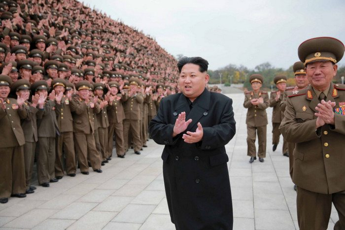 Kim Jong-un: Crazy? He has close to nine million trained fighters and a standing military of 1.2 million.