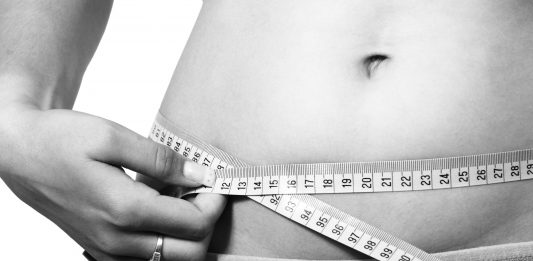 Waist circumference indicates the amount of fat present in your abdomen.