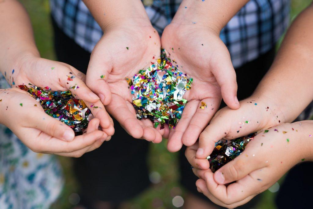 I didn't always hate glitter!