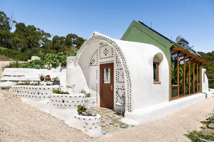 Martin Freney wanted to build an earthship that passed Australian building regulations.