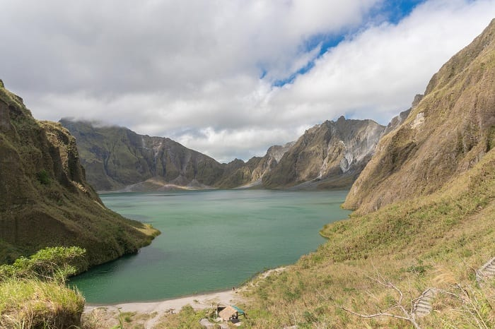 Pinatubo exploded in June 1991.