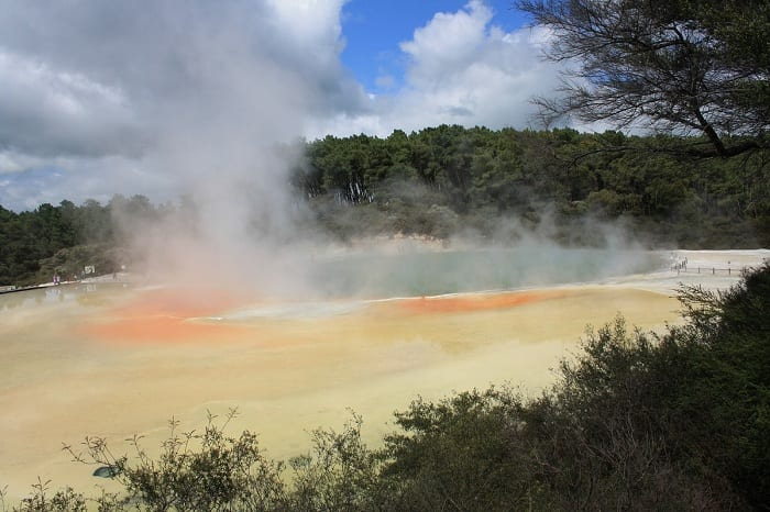 There are huge stores of geothermal energy beneath the surface of the earth