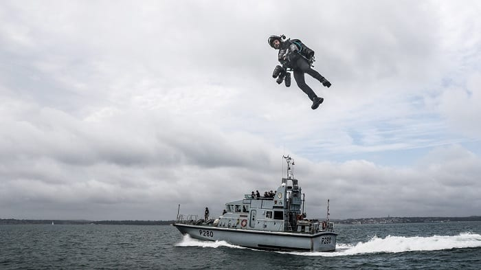 The jetpack has tremendous potential for military applications