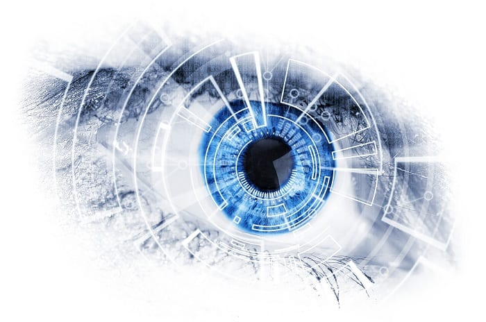 Researchers in California have created a contact lens that automatically switches focus.