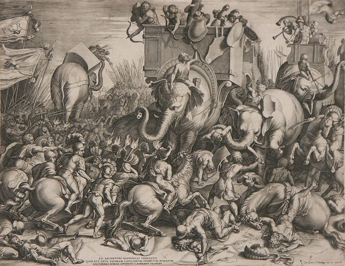 Mosquito-borne disease devastated Hannibal's army.