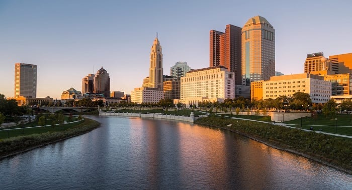 Columbus, Ohio, is among the fastest growing cities in the US.(Photo: David Mark for Pexels)