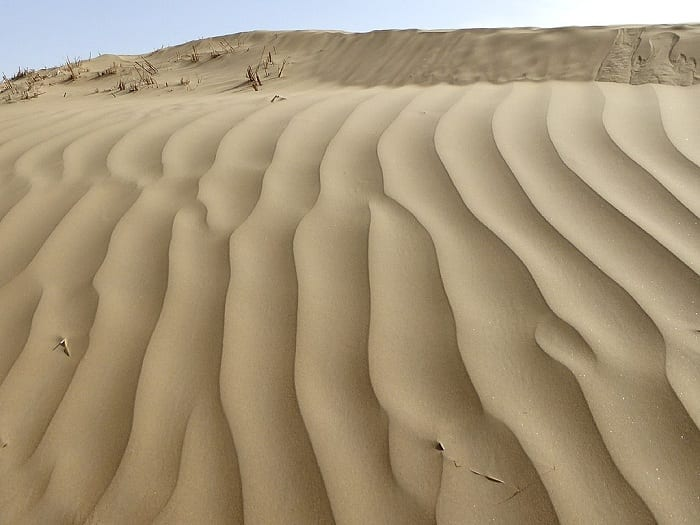 China's deserts have expanded by about 21,000 square miles since 1975.