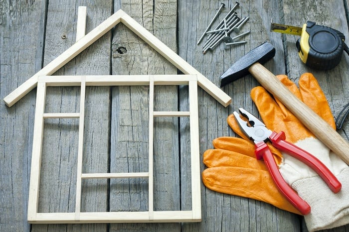 Complex renovations will likely require the services of a professional.