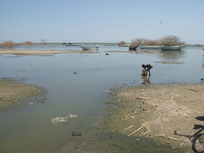 Lake Chad has shrunk by more than 90 percent since 1963.