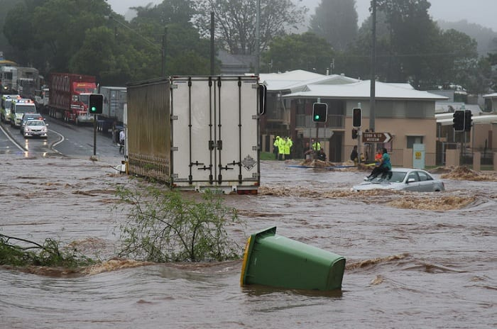 An exceptionally strong La Niña caused devastating floods in Queensland, Australia, in 2011.