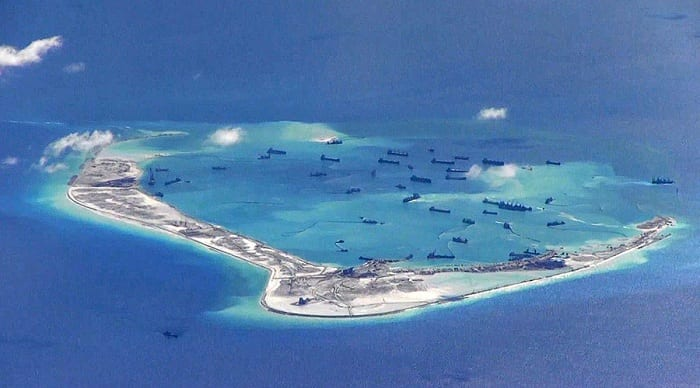 China has announced its intention to restore coral reefs damaged during the construction of its man-made outposts in the South China Sea.