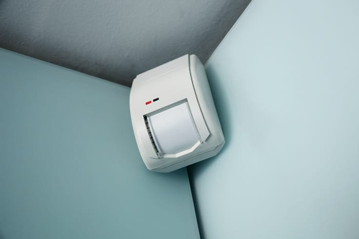 If you can't afford a home security system, consider installing small, inexpensive alarms.