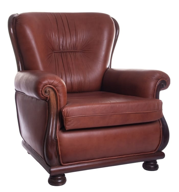 Armchairs can be casual or formal chairs for lounging in the living room.