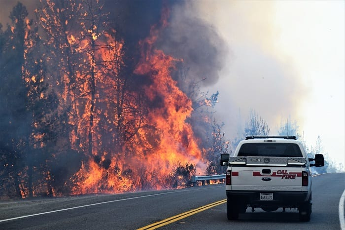A study published recently in the journal, Earth's Future, says California's wildfire epidemic is real - and that it's being driven by climate change.