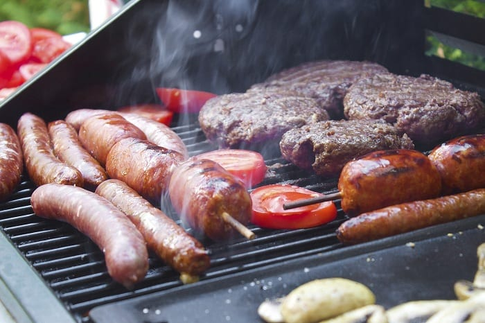 You should position your grill away from the home, as well as from decks and low-hanging tree branches.