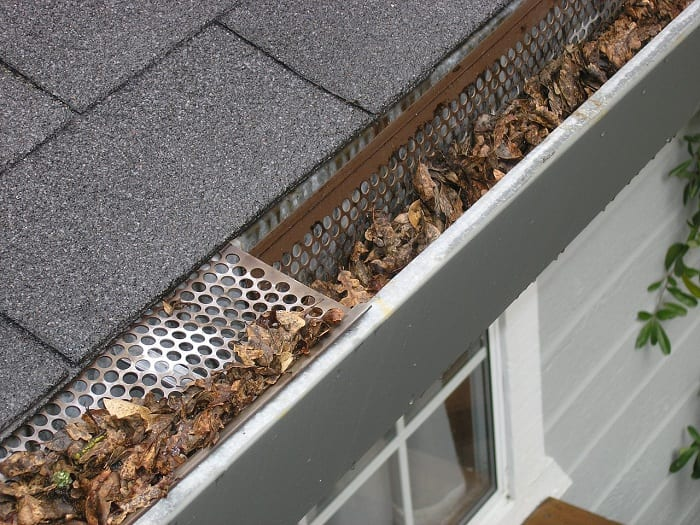 Once the leaves have fallen off the trees, it's time to clean those gutters.