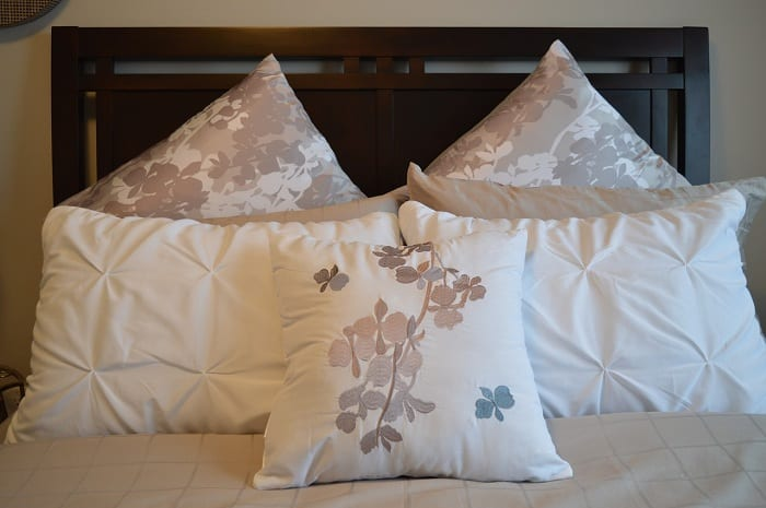 Comfortable bedding is essential in any home.