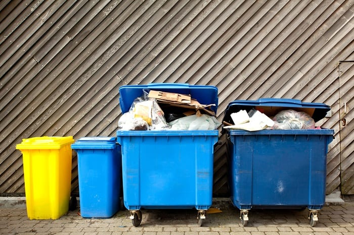 "Burglars will ""window shop"" your house to check for any big cardboard boxes in the rubbish bins."