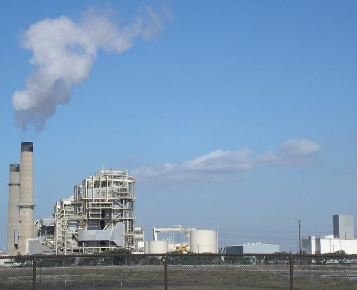 Many industrialized nations have replaced their coal-fired power plants with gas-fired power plants.