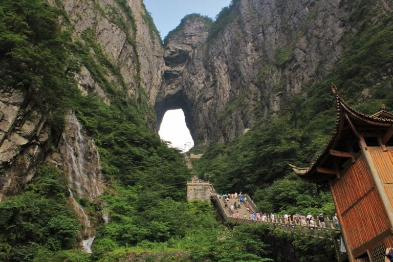 The Stairway to Heaven Exists And It's in China!