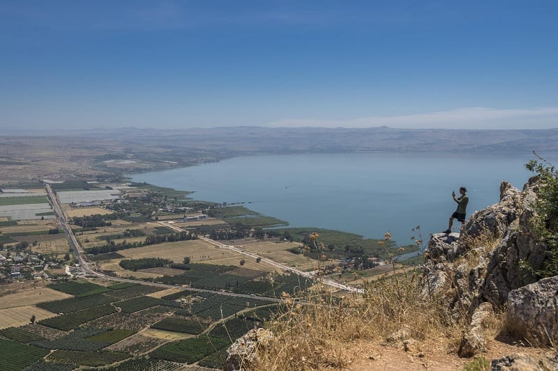 Water levels in the Sea of Galilee were so low in 2018 that it teetered on the brink of becoming another Dead Sea.