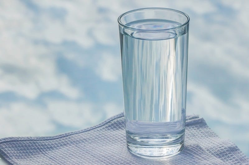 The St George Hospital e-mail recommends that staff drink a sip of water every 15 minutes.