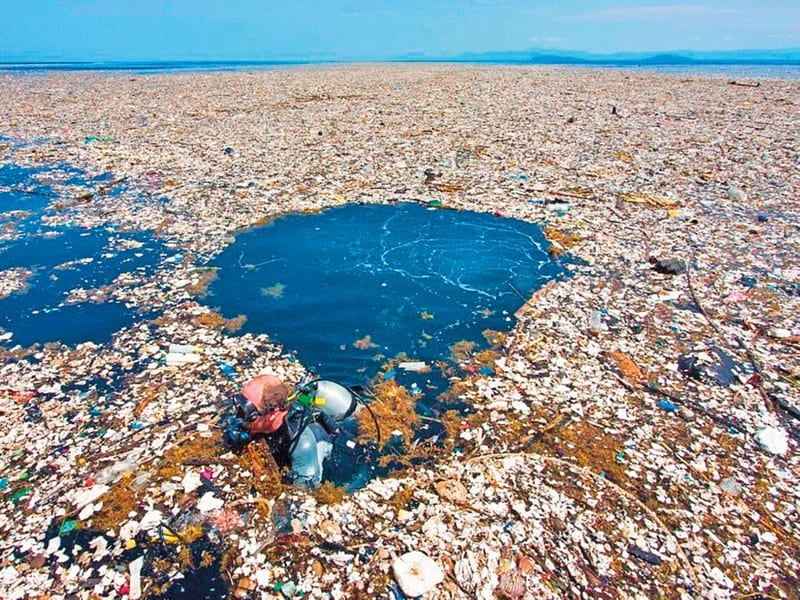 The Great Pacific Gyre - not quite the recycling program we all expect!