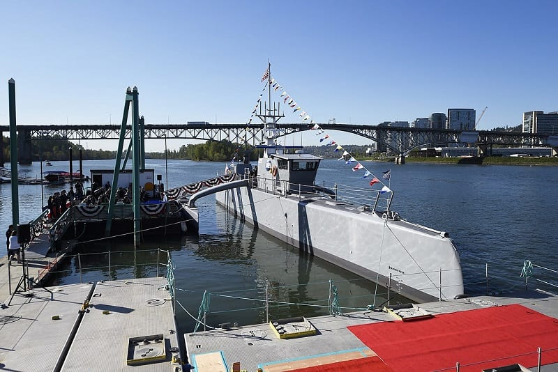 The US Navy is experimenting with a 135-ton autonomous submarine destroyer called Sea Hunter.