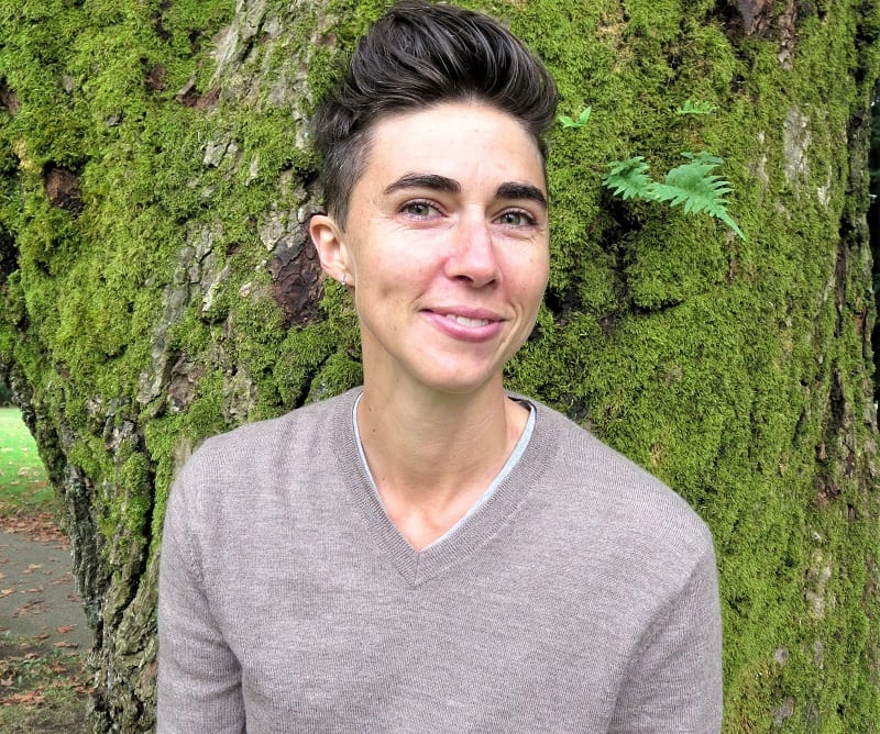 Katrina Spade , founder of Recompense, says most conventional ways to honor the dead contribute to climate change.