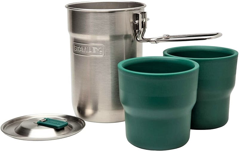 The Stanley Adventure Cook Set just might be the best-priced camping cook set on the market.