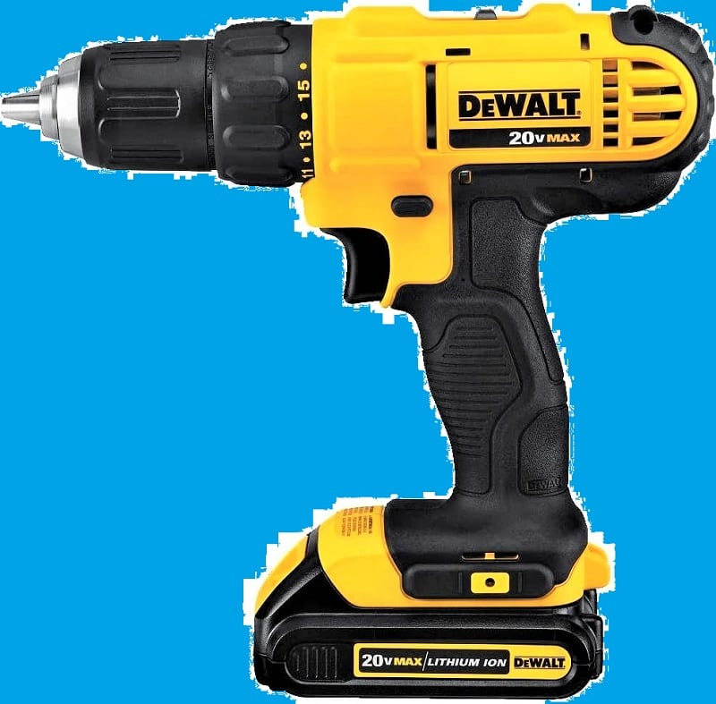 The DeWalt DCD771C2 is a 20-volt cordless, lithium-ion compact drill kit that offers good torque and speed for the money.