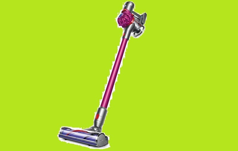The Dyson V7 is all about compact versatility.