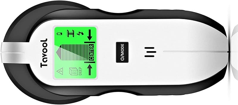 You can set the Tavool 4 in 1 stud finder to detect wood, joists, metal, and beams.