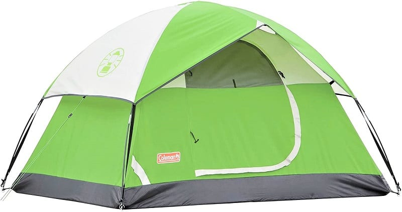 The Coleman Sundome 2-Person Tent is perfect for the solo traveler or those who like to go camping as a couple