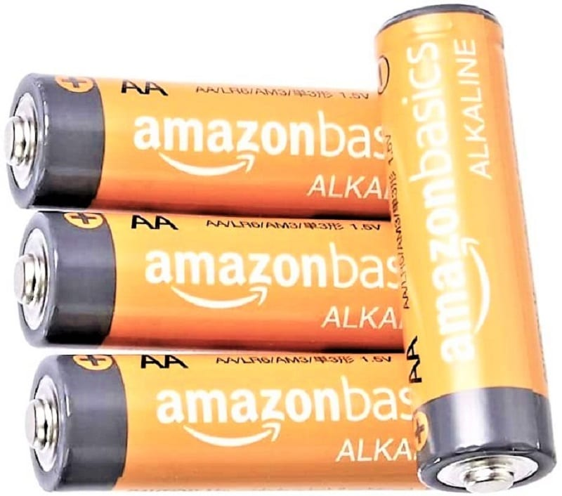 Keep a few disposable batteries on hand