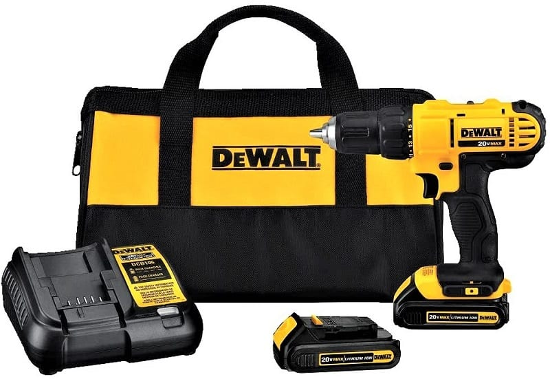 Whether you're driving bolts to mount a picture frame or tightening hinges, a battery-powered drill means less hassle.