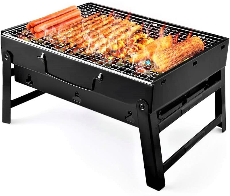 Picnic grills have to be lightweight.