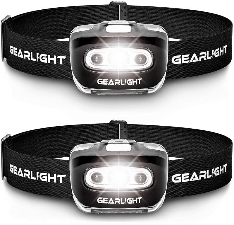 Wearing a good headlamp will provide you with light when and where you need it the most.