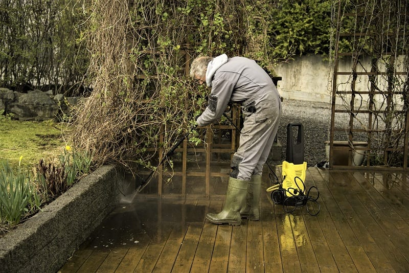 Your patio accumulates grime and muck through the fall and winter.
